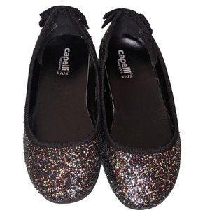 Capelli Baby Girls Kid's Multicolor Glitter Shoes